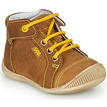 Schuhe Jungen Sneaker High GBB PARGA NUB MARRON DPF/RAIZA
