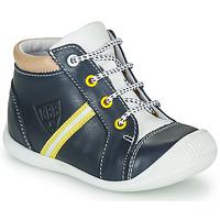 Chaussures Garçon Baskets montantes GBB GABRI VTE MARINE DPF/RAIZA