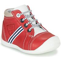 Chaussures Garçon Baskets montantes GBB GABRI VTE ROUGE DPF/RAIZA