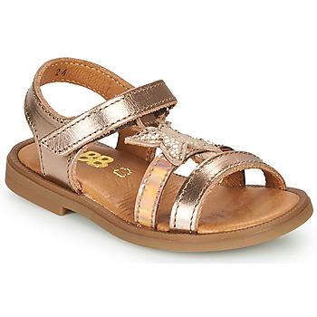 Schuhe Mädchen Sandalen / Sandaletten GBB OLGA Gold