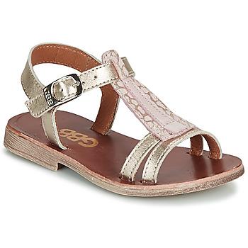 Schuhe Mädchen Sandalen / Sandaletten GBB LAZARO Golden