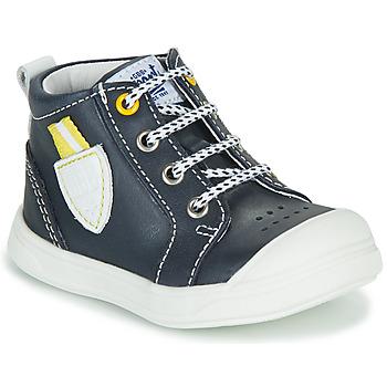 Chaussures Garçon Baskets montantes GBB GREGOR VTE MARINE DPF/RAMEY