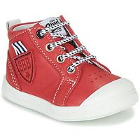 Chaussures Garçon Baskets montantes GBB GREGOR VTE ROUGE DPF/RAMEY