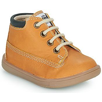 Schuhe Jungen Sneaker High GBB NORMAN VTE OCRE DPF/MESSI