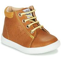 Chaussures Garçon Baskets montantes GBB FOLLIO VTE CAMEL DPF/MESSI