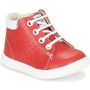 Scarpe Bambino Sneakers alte GBB FOLLIO VTE ROUGE DPF/MESSI