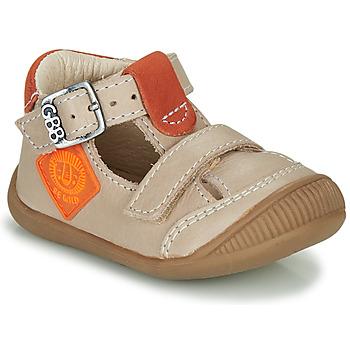 Chaussures Garçon Sandales et Nu-pieds GBB BOLINA VTE SABLE-ORANGE DPF/RAIZA