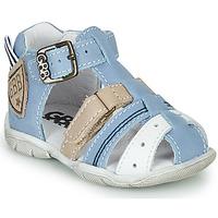 Chaussures Garçon Sandales et Nu-pieds GBB BYZANTE VTE CIEL-SABLE DPF/FILOU