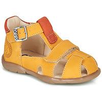 Chaussures Garçon Sandales et Nu-pieds GBB SEROLO VTE MOUTARDE DPF/FILOU