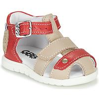 Chaussures Garçon Sandales et Nu-pieds GBB BASILA VTE ROUGE-SABLE DPF/SIMONE