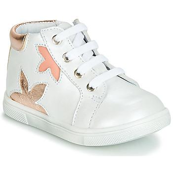 Scarpe Bambina Sneakers alte GBB ALEXA VTE BLANC DPF/TRILLY