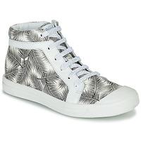 Schuhe Mädchen Sneaker High GBB NAVETTE VTE IMPRIME FEUILLE DPF/MILENA
