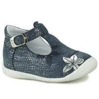Chaussures Fille Ballerines / babies GBB ANAXI VTE MARINE ARGENT DPF/KEZIA