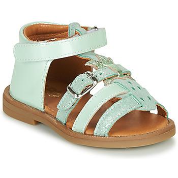 Schuhe Mädchen Sandalen / Sandaletten GBB CARETTE VCT VERT D'EAU DPF/2794