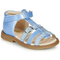 Schuhe Mädchen Sandalen / Sandaletten GBB ANTIGA VCT BLEU DPF/2794