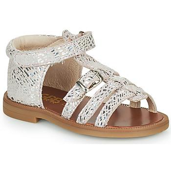 Chaussures Fille Sandales et Nu-pieds GBB PHILIPPINE VTE ROSE ARGENT DPF/2794
