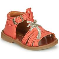 Chaussures Fille Sandales et Nu-pieds GBB ARAGA VTE CORAIL DPF/2794