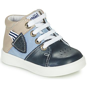 Scarpe Bambino Sneakers alte GBB AMOS VTE MARINE-SABLE DPF/2921