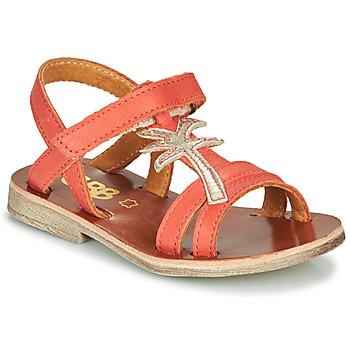 Chaussures Fille Sandales et Nu-pieds GBB SAPELA VTE CORAIL DPF/COCA