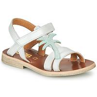 Schuhe Mädchen Sandalen / Sandaletten GBB SAPELA Weiß