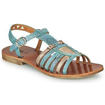 Schuhe Mädchen Sandalen / Sandaletten GBB FANNI Blau / Golden
