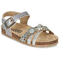 Chaussures Fille Sandales et Nu-pieds GBB PANORA TTS ARGENT DTX/SOUPLE