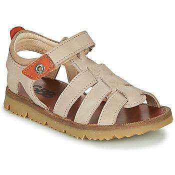 Schuhe Jungen Sandalen / Sandaletten GBB PATHE Beige