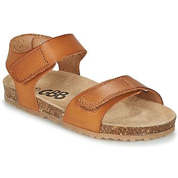 Chaussures Garçon Sandales et Nu-pieds GBB KIPILO VTE MARRON DPF/SOUPLE