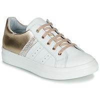 Scarpe Bambina Sneakers basse GBB DANINA VTC BLANC-OR DPF/BITTER