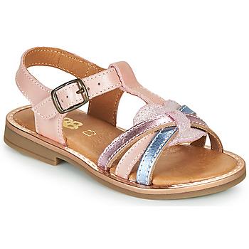 Schuhe Mädchen Sandalen / Sandaletten GBB EGEA VTF ROSE DPF/COLA