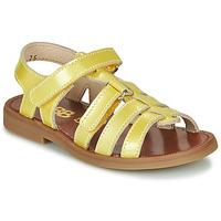 Schuhe Mädchen Sandalen / Sandaletten GBB KATAGAMI VVN JAUNE DPF/2794