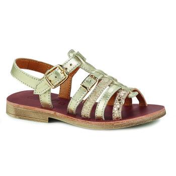 Schuhe Mädchen Sandalen / Sandaletten GBB BANGKOK Golden