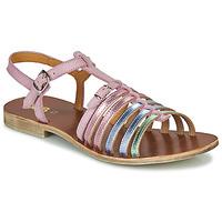 Schuhe Mädchen Sandalen / Sandaletten GBB BANGKOK NUF ROSE-PASTEL DPF/COCA