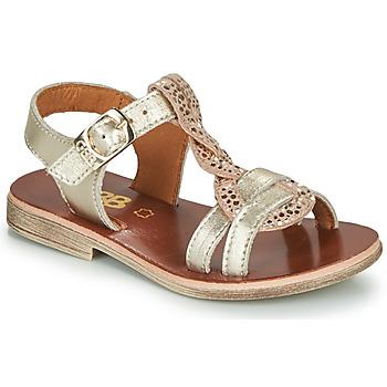 Schuhe Mädchen Sandalen / Sandaletten GBB EUGENA Golden