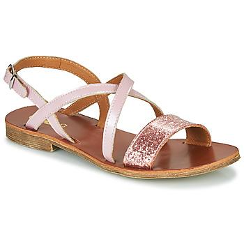Chaussures Fille Sandales et Nu-pieds GBB FAVOLA VVS ROSE DPF/COCA