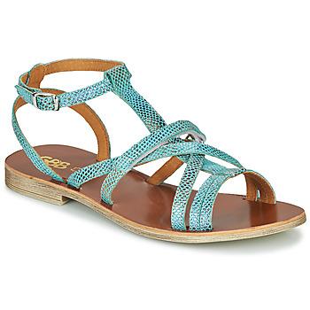 Schuhe Mädchen Sandalen / Sandaletten GBB JULIA Blau