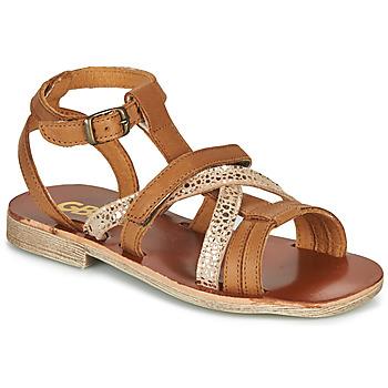 Chaussures Fille Sandales et Nu-pieds GBB JULIA VTE CAMEL-OR DPF/COCA