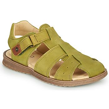 Schuhe Jungen Sandalen / Sandaletten GBB JAMIK VTE KAKI DPF/SOUPLE