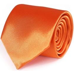 Vêtements Homme Cravates et accessoires Dandytouch Cravate unie Orange