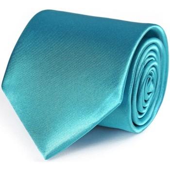 Vêtements Homme Cravates et accessoires Dandytouch Cravate unie Turquoise
