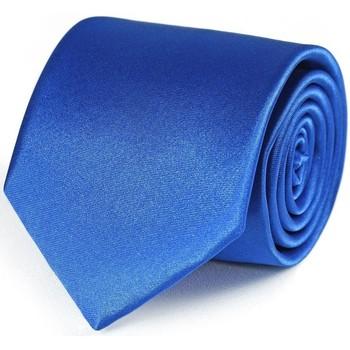 Vêtements Homme Cravates et accessoires Dandytouch Cravate unie Bleu-roi