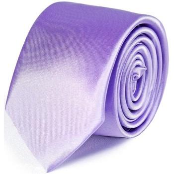 Vêtements Homme Cravates et accessoires Dandytouch Cravate Slim unie Parme
