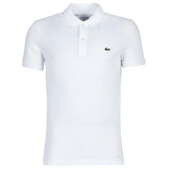 Vêtements Homme Polos manches courtes Lacoste PH4012 SLIM Blanc