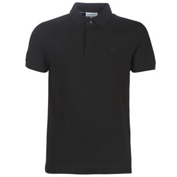 Vêtements Homme Polos manches courtes Lacoste PARIS POLO REGULAR Noir