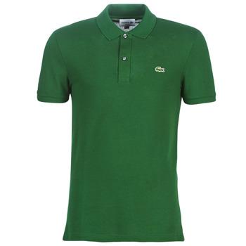 Abbigliamento Uomo Polo maniche corte Lacoste PH4012 SLIM Verde