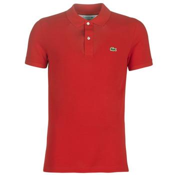 Abbigliamento Uomo Polo maniche corte Lacoste PH4012 SLIM Rosso