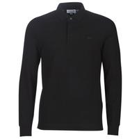 Kleidung Herren Langärmelige Polohemden Lacoste PH2481 REGULAR Schwarz