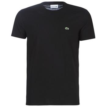 Abbigliamento Uomo T-shirt maniche corte Lacoste TH6709 Nero