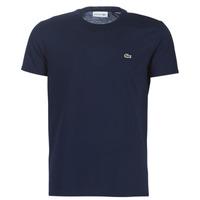 Vêtements Homme T-shirts manches courtes Lacoste TH6709 Marine