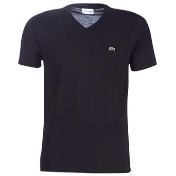 Abbigliamento Uomo T-shirt maniche corte Lacoste TH6710 Nero